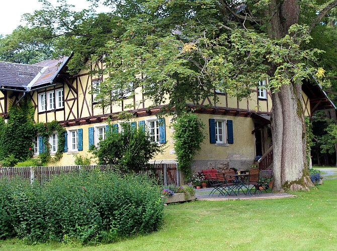 Leben in Schönwald - Ortsteile