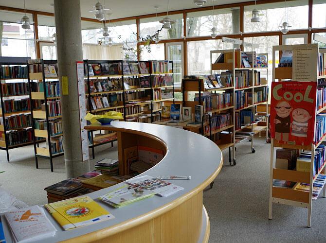 Leben in Schönwald - Einrichtungen - Bücherei